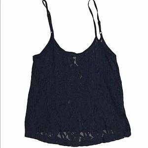 3/$30 Kirra lace tank top crop